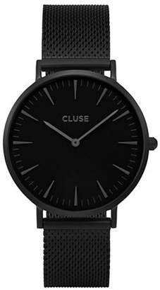 Cluse La Bohème CL18111 Black Stainless Steel Analog Watch