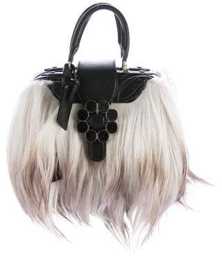 Louis Vuitton Long Hair Goat Transsiberian Bag
