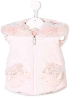 Lapin House sleeveless bow vest