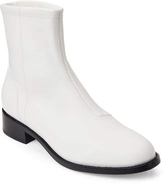 Opening Ceremony White Dani Leather Flat Boots