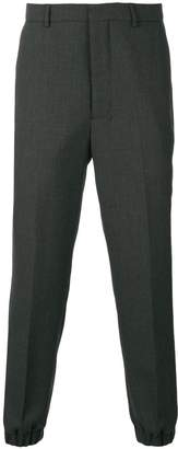 Ami Alexandre Mattiussi Elasticized Hem Carrot Fit Trousers