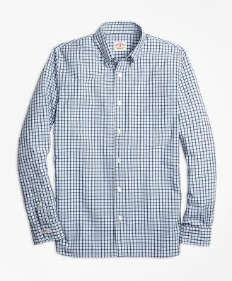 Dual-Tone Gingham Sport Shirt $49.50 thestylecure.com