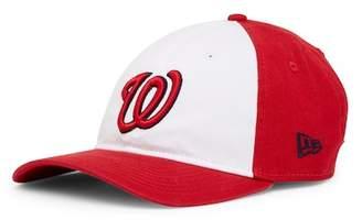 New Era Cap Washington Nationals White Pop Cap
