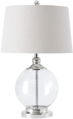 Webster Temple & Hilton Glass Table Lamp