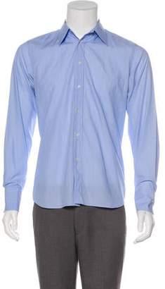 Miu Miu Striped Button-Up Shirt