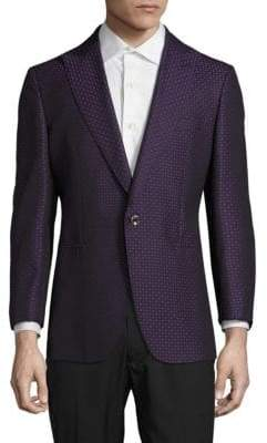 Robert Graham Geometric Wool-Blend Jacket