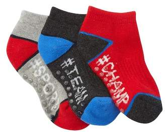 Joe Fresh Sport Ankle Socks - Pack of 3 (Toddler)