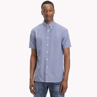 Tommy Hilfiger Cotton Poplin Classic Gingham Shirt