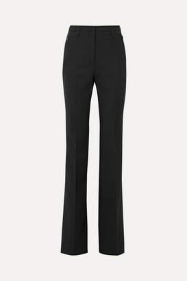 Akris Wool-blend Bootcut Pants - Black