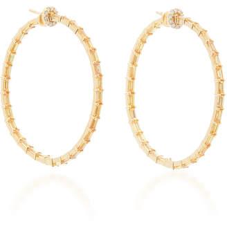Nam Cho 18K Gold, Sapphire And Diamond Earrings