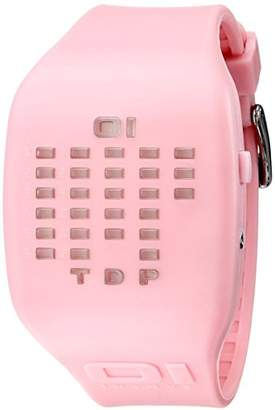 The One Unknown Ibizia Ride IC900M3PK Unisex Pink Silicone Strap Watch