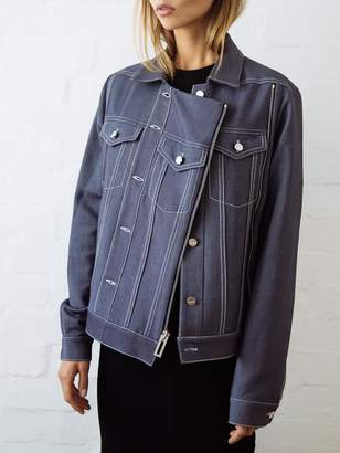 Dion Lee Tailored Denim Biker Jacket