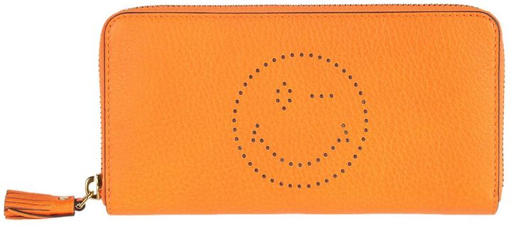 Anya Hindmarch Anya Hindmarch Anya Hindmarch Wink Zip Around Wallet