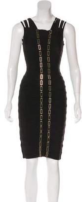 Herve Leger Gemma Bandage Dress