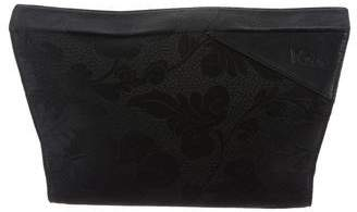 Gianni Versace Patterned Jacquard Clutch