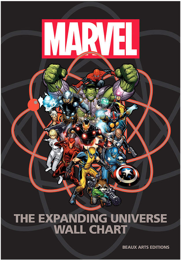 Quarto Publishing Marvel: The Expanding Universe Wall Chart