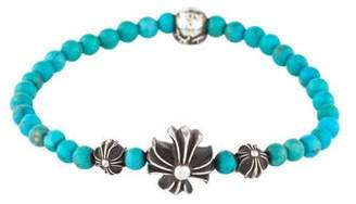 Chrome Hearts Turquoise Bead Bracelet