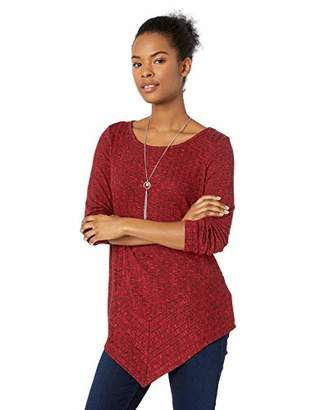 Amy Byer A. Byer Junior's Pointed Hem Sweater Tunic