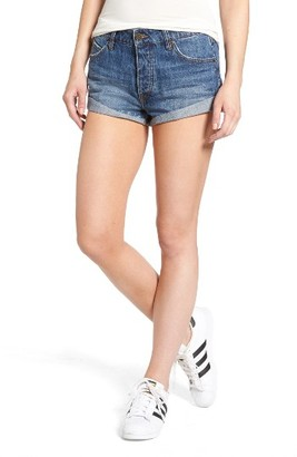 Women's Volcom Rolled Denim Shorts $49.50 thestylecure.com