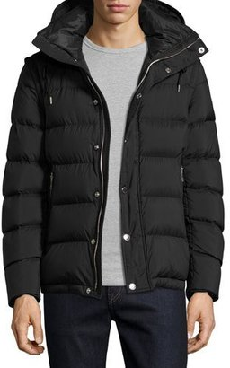 Burberry Basford 2-in-1 Puffer Jacket, Black $895 thestylecure.com