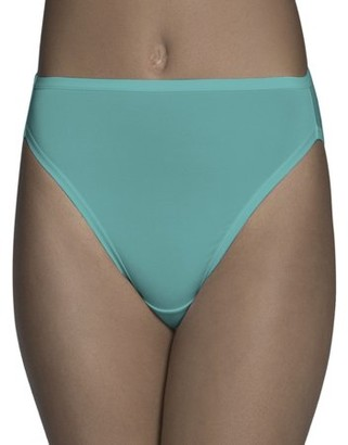 Fruit of the Loom Women's Microfiber Hi-Cut Panties - 6 Pack