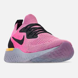 Nike Kids' Grade School Epic React Flyknit Running Shoes
