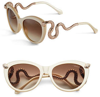 Roberto Cavalli RC889S 56mm Cat Eye Sunglasses