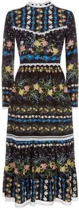 Erdem Georgie Midi Dress