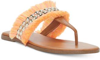 Jessica Simpson Crespo Fringe Flat Sandals Women's Shoes