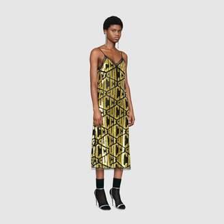 Gucci game sequins slip dress