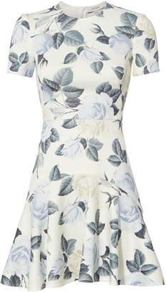 Lover Rosa Flora Mini Dress