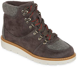 A.N.A Womens Albany Booties Lace-up