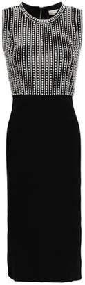 MICHAEL Michael Kors Embellished Stretch-knit Dress