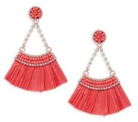 Lord & Taylor Design Lab Crystal Fan Earrings