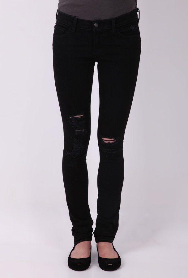 J Brand Denim Black Low Rise 12