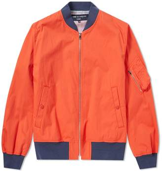 Comme des Garcons Homme Homme Weather Cloth Bomber Jacket