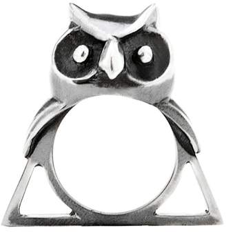 Glenda López The Owl Triangle Ring