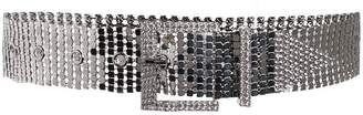 B-Low the Belt sequin crystal studded belt