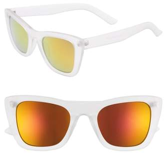 BP 51mm Translucent Square Sunglasses