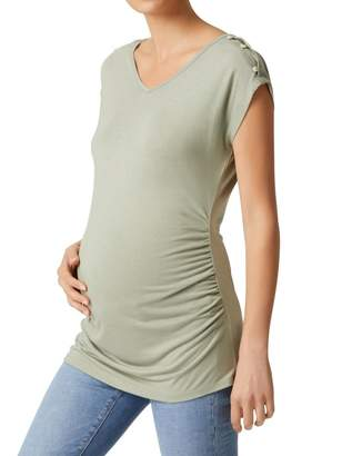 Jeanswest Ana Maternity Button Detail Tee