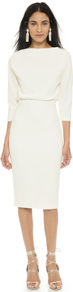 Badgley Mischka Collection Long Sleeve Dress $297 thestylecure.com