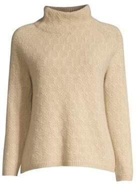 Max Mara Leandra Mockneck Cashmere Sweater