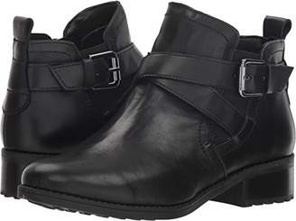 6521d5f08aad Easy Spirit Black Ankle Women s Boots - ShopStyle