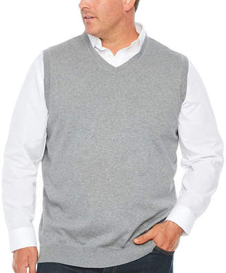 Co THE FOUNDRY SUPPLY The Foundry Big & Tall Supply Mens V Neck Sweater Vest Big and Tall