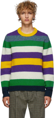Acne Studios Multicolor Striped Wool Kai Sweater