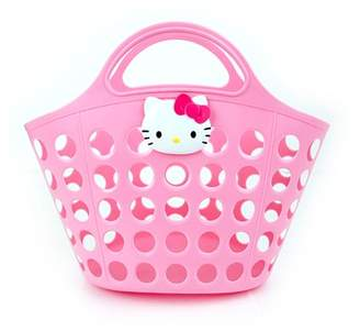 Hello Kitty Basket Bath Shower Pool Beach Caddy in Pink