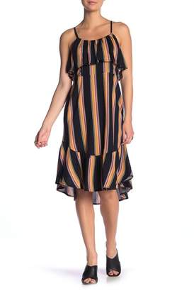 Band of Gypsies Bridget Stripe Ruffle Hem