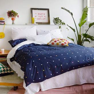 More Than Ever Spot & Dot Reversible Quilt Cover, Double