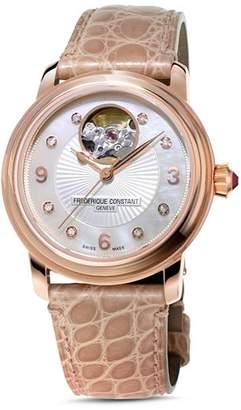Frederique Constant Heart Beat Diamond Watch, 34mm
