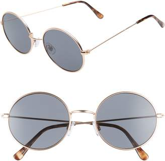 BP 53mm Flat Round Sunglasses